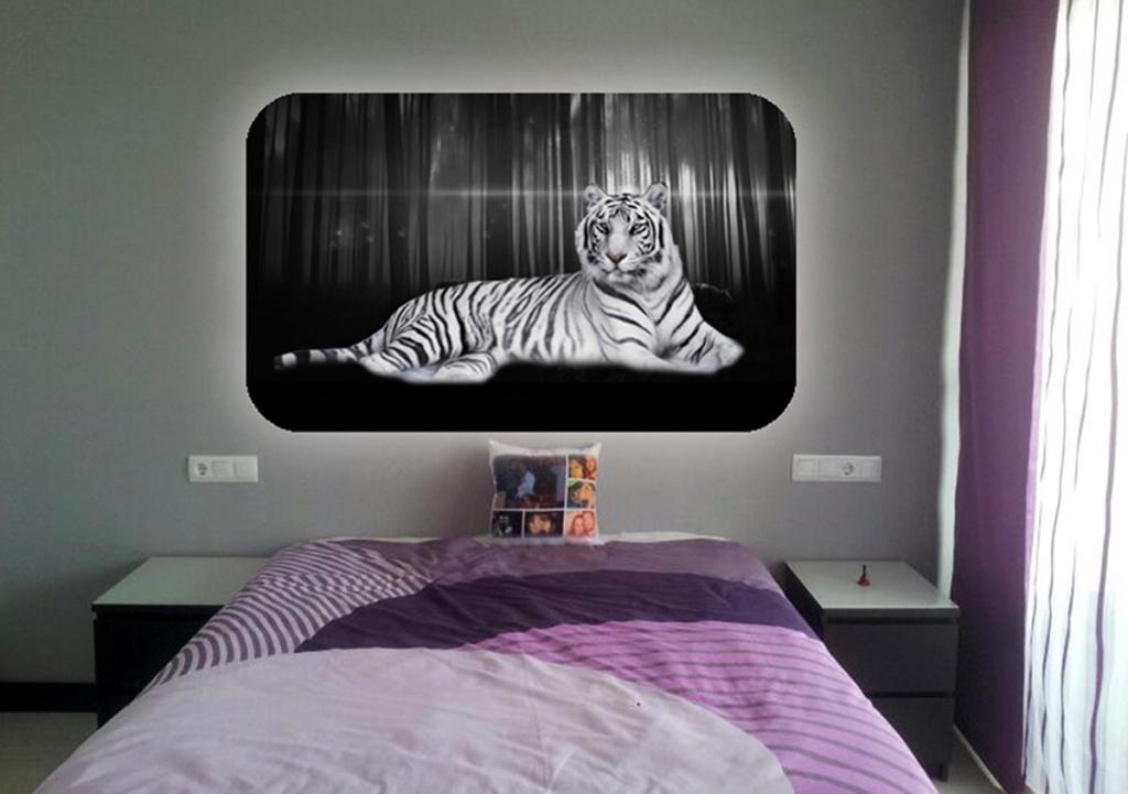 cabecero tigre